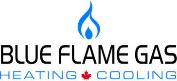 Blue Flame Gas